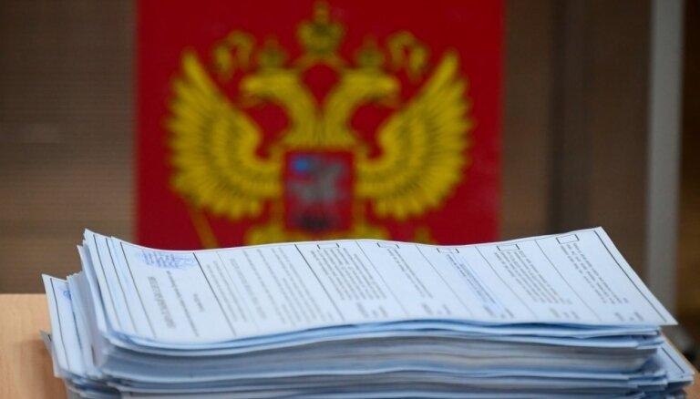 Krievijas Piejūras novadā gubernatora vēlēšanās uzvarējis Kremļa atbalstītais kandidāts