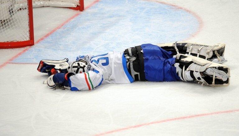 Fotoreportāža: pasaules hokeja čempionāta trešā diena bildēs