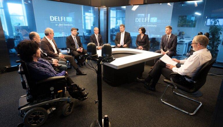 'Par ko balsot Eiropā?' — noslēdzošās līderu debates. Pilns ieraksts