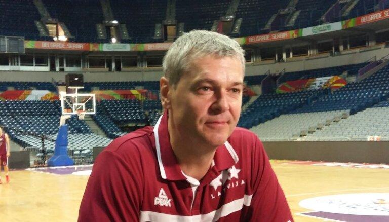 'Delfi' no Belgradas: Latvijas basketbolisti brīžiem ir pārmērīgi uzvilkti, stāsta Bagatskis