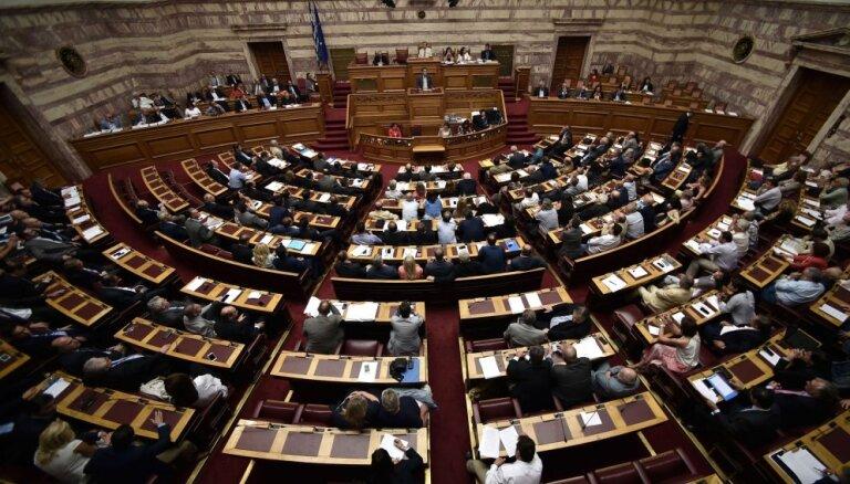 Парламент Греции поддержал новый пакет мер жесткой экономии