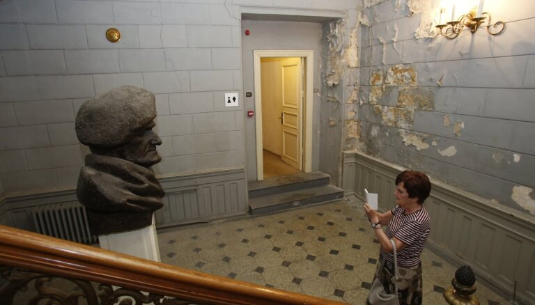 Foto: Kā šobrīd izskatās Vāgnera zāles telpas