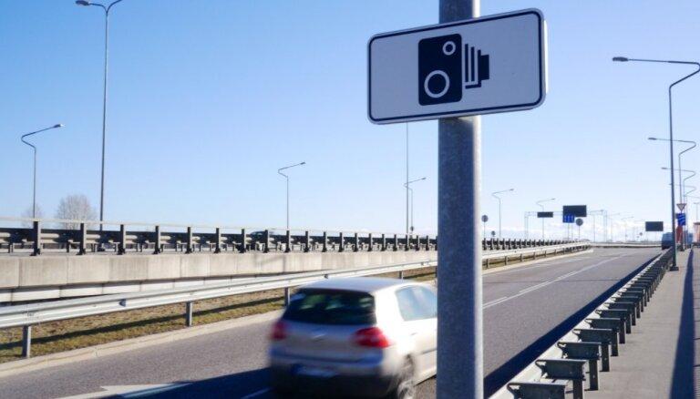 КАРТА: до конца октября на дорогах Латвии установят 24 новых фоторадара
