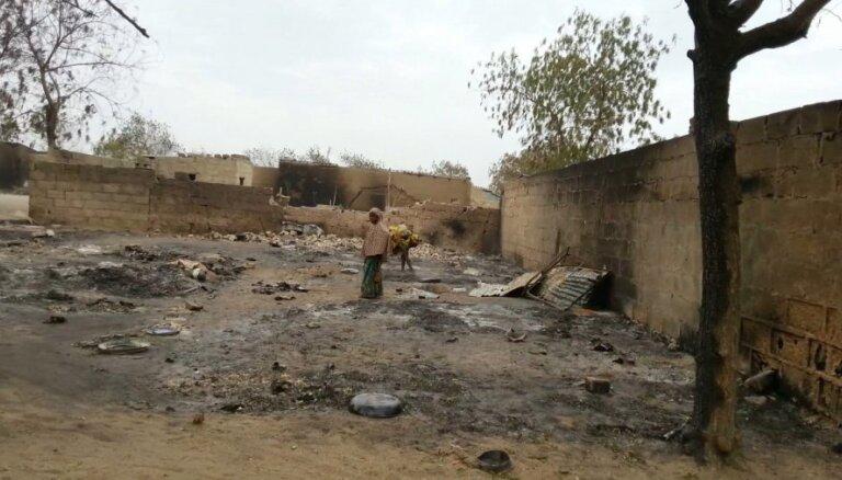 Sprādzienā Nigērijā gājuši bojā 32 cilvēki un 80 ievainoti