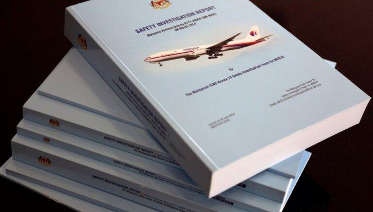 Reisa 'MH370' pazušanas iemeslus joprojām nav izdevies uzzināt
