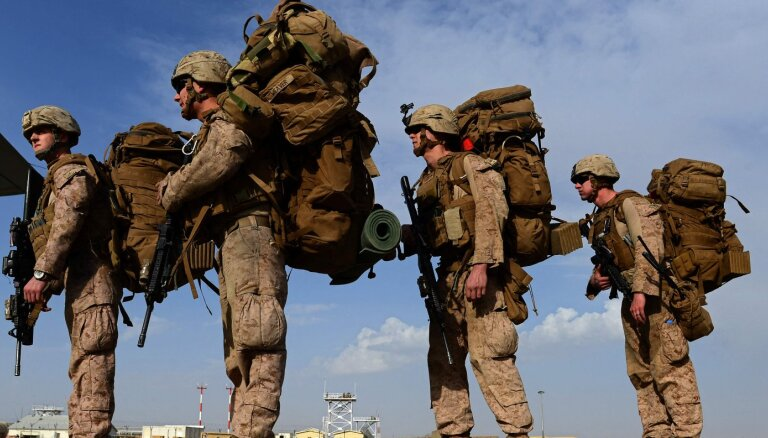 Džonsons: Vairums Lielbritānijas karavīru ir atstājuši Afganistānu