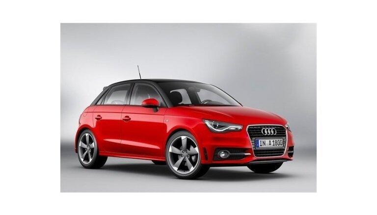 Самой маленькой Audi добавили пару дверей