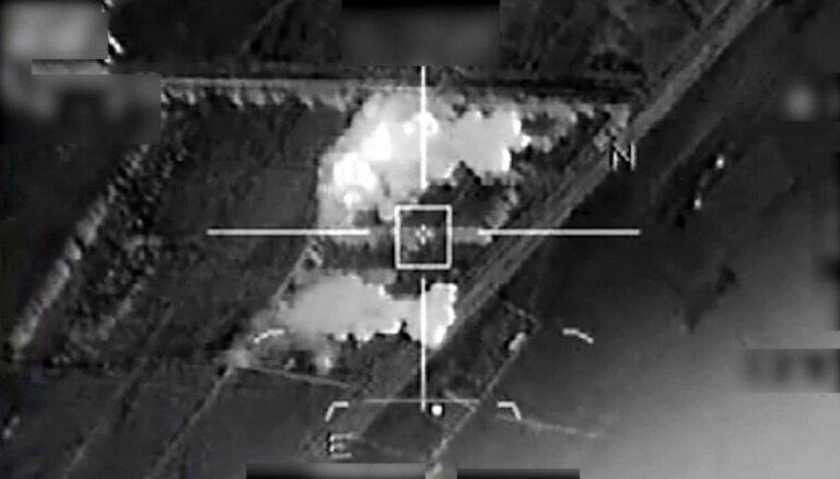Франция нанесла удары по позициям ИГ в Пальмире