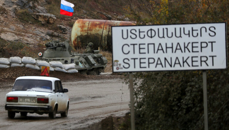 Kalnu Karabahas viesiem turpmāk jāgūst Krievijas atļauja