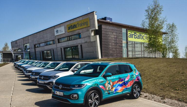 Latvijā prezentēts VW mazākais apvidnieks 'T-Cross'