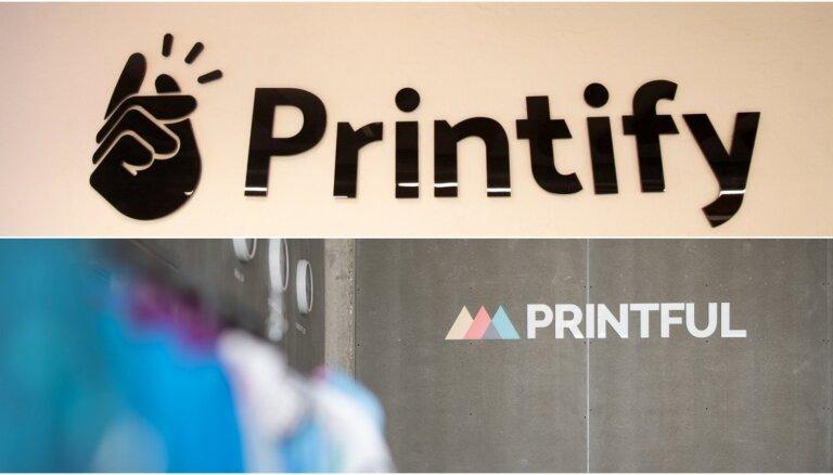 'Printful' ASV tiesā iesūdz 'Printify' par negodīgu komercpraksi