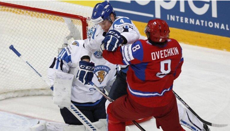 Ovečkins pastiprina Krievijas hokeja izlasi