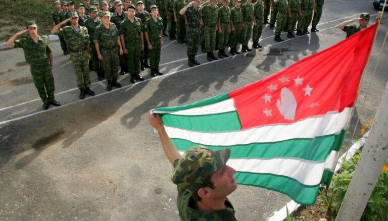 Latvijas un 14 valstu paziņojums: vēlēšanas Abhāzijā nav likumīgas