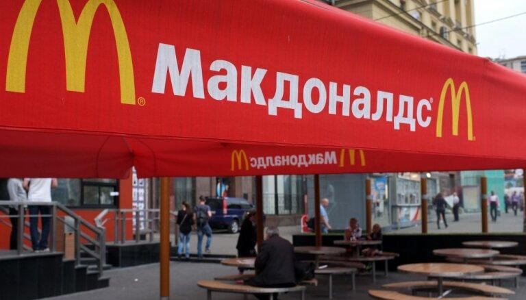 Spītējot sankciju karam, 'McDonald's' Sibīrijā noslēdz vērienīgu 44 miljonu dolāru līgumu