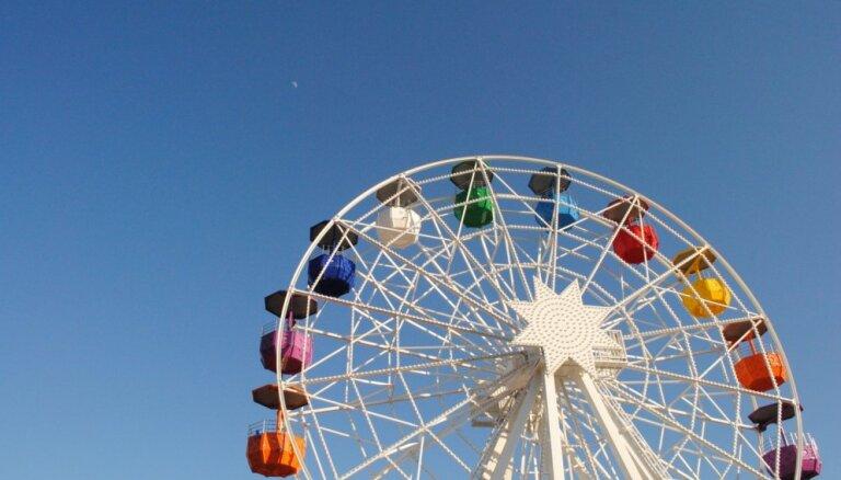 Рижская дума планирует установить в парке Победы панорамное колесо