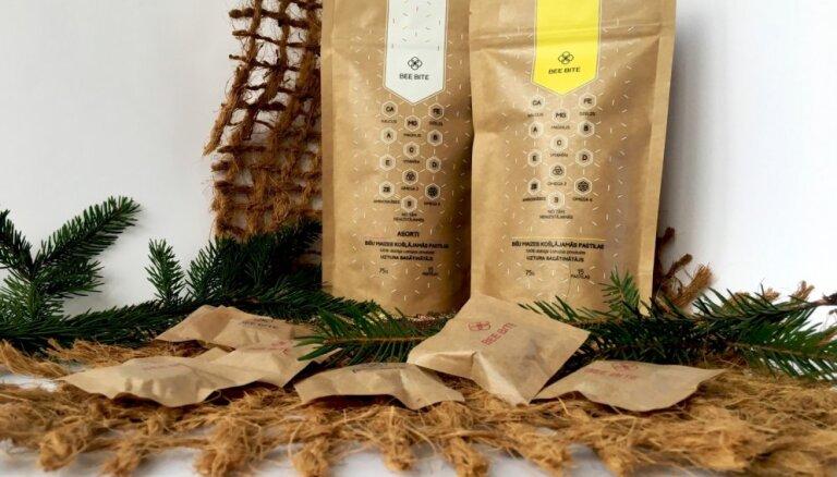 Bišu maizes ražotājs 'Bee bite' plāno eksportu uz Igauniju un Skandināviju