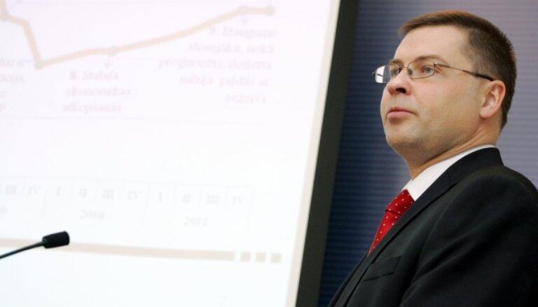Домбровскис обещает новый план борьбы с инфляцией