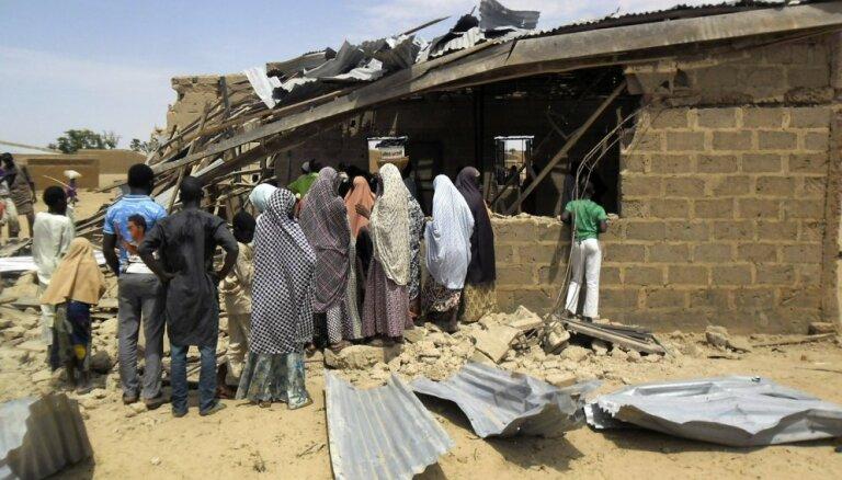 Nigērījas armija no 'Boko Haram' gūsta atbrīvojusi vairāk nekā 100 bērnus