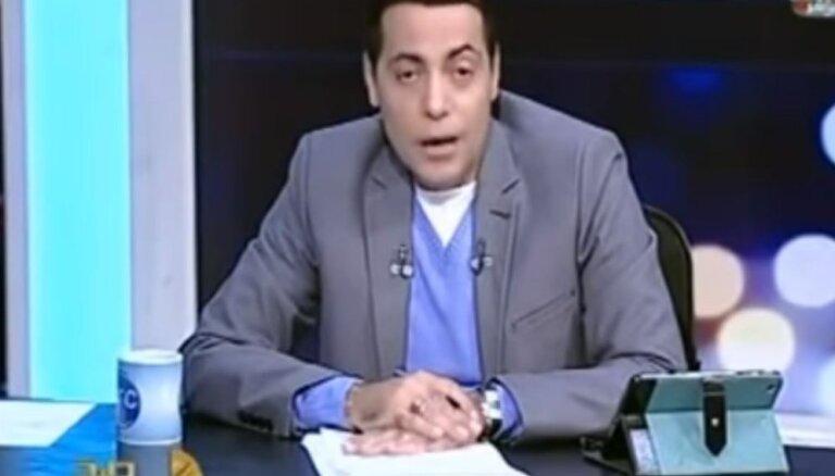 Par geja intervēšanu cietumā jāiet Ēģiptes TV žurnālistam