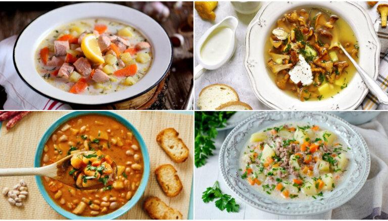 Fiksās zupas – aizņemtu vecāku glābiņš: 30 receptes vakariņām 30 minūtēs