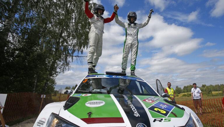 Video: Ralfs Sirmacis Igaunijā izcīna otro ERČ uzvaru šosezon