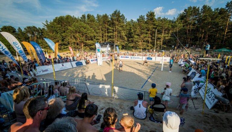Graudiņa/Kravčenoka turnīrā Vecāķos tiksies ar pērnā gada EČ fināla pretiniecēm