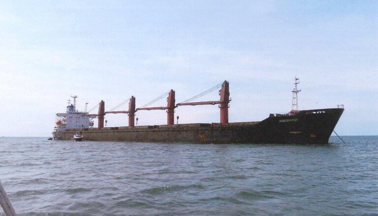ASV konfiscējušas Ziemeļkorejas kravas kuģi