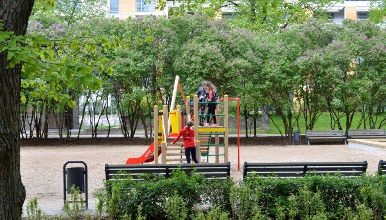 No jūnija Rīgas iedzīvotājiem būs pieejams atjaunotais Grīziņkalna parks, Ziedoņdārzs un Miera dārzs