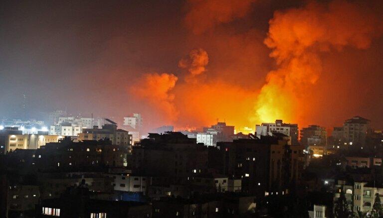 ВВС Израиля нанесли мощный удар по городу Газа