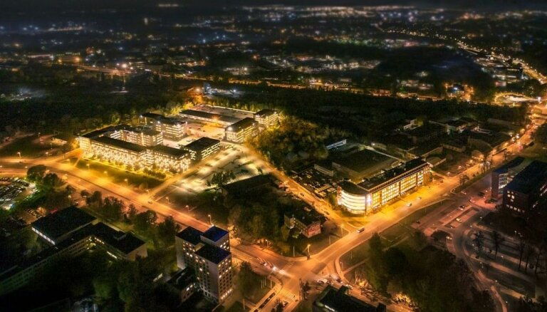 Рижские офисные центры объединили в деловой квартал Skanstes City