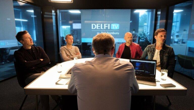 'Delfi TV ar Jāni Domburu' – atbild 'Prāta vētra'