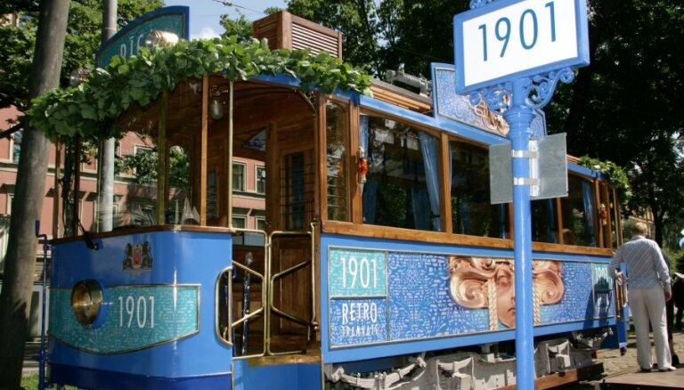 Līgo svētkus Rīgā piektdien sāks ieskandināt muzicējošie tramvaji