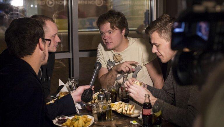 Ar 'Pieci.lv' dīdžeju 'Pēdējām vakariņām' sākas labdarības maratons 'Dod pieci!'
