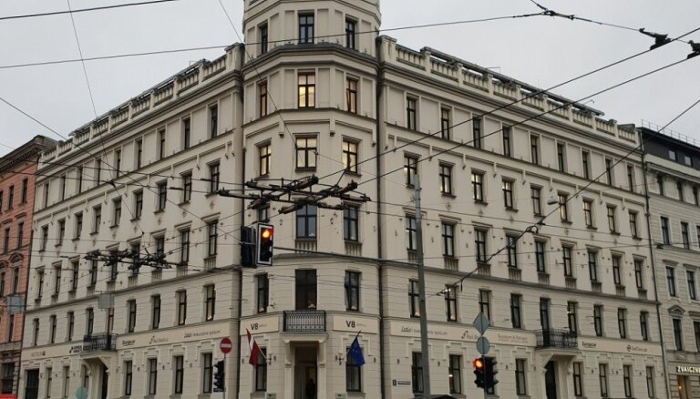 Foto: Pārdota bijusī 'Parex' bankas galvenā ēka Rīgas centrā