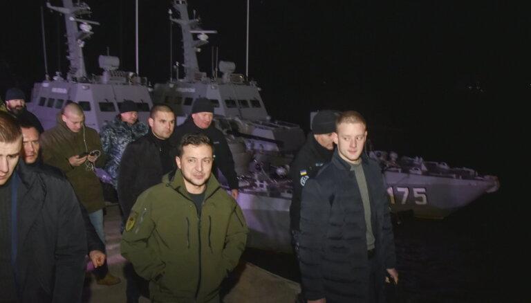 Зеленский напомнил Путину о возвращении оборудования с кораблей