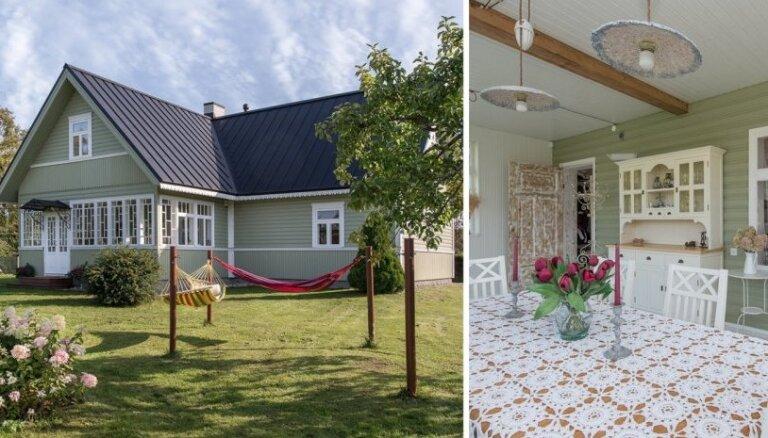 Skandināvu stila pērle – omulīgā koka māja Igaunijā