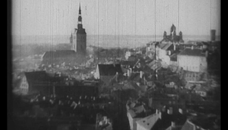 Arhīva video: Igaunijas neatkarības 20 gadu svinības Tallinā