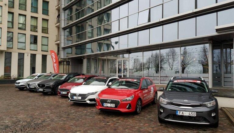 Nosaukti 'Latvijas gada auto 2018' titulu ieguvēji