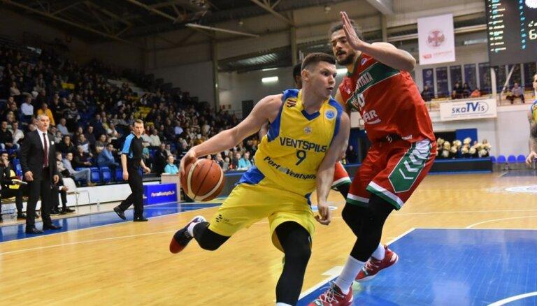 'Ventspils' basketbolisti nepārvar FIBA Eiropas kausa astotdaļfinālu