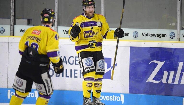 'Dinamo' nolūkots DEL labākais vārtu guvējs plāno turpināt karjeru KHL