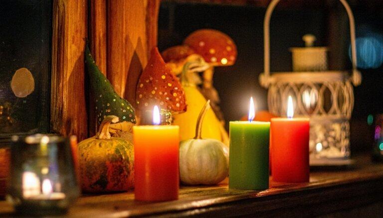 Lai sveču dedzināšana mājās nebeigtos ar traģēdiju