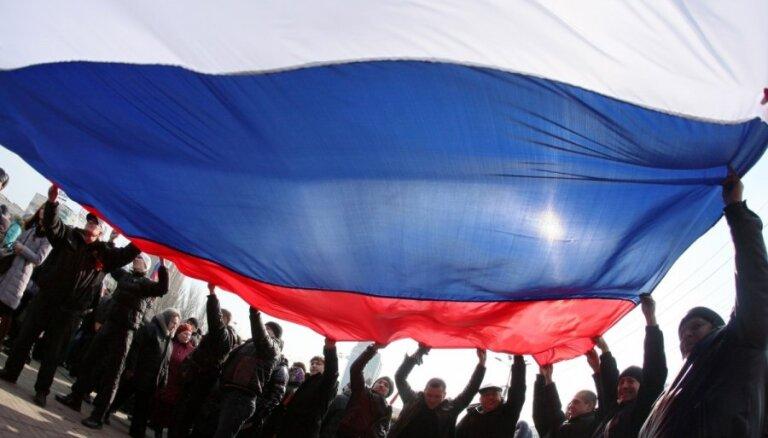 В Донецке прошел крупный пророссийский митинг