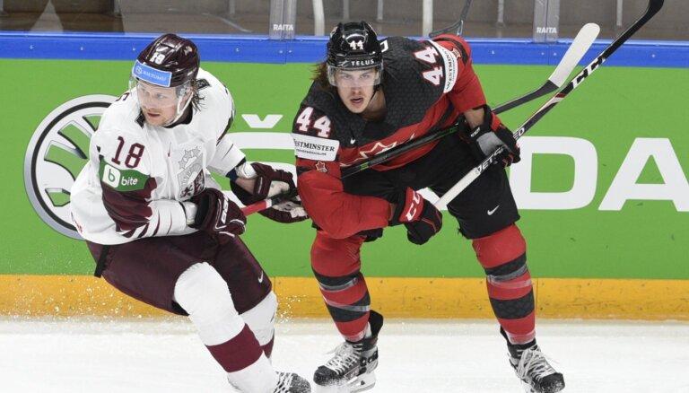 Video: PČ hokejā TOP 10 iekļūst Latvijas neizmantotā iespēja pret Kanādu