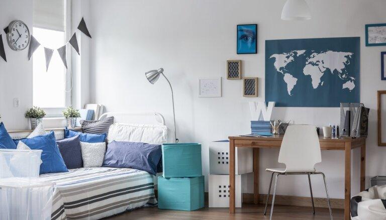 Interjera dizaineres padomi, kā iekārtot istabu skolēnam
