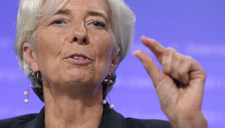 Глава МВФ обещает исполнить танец живота перед конгрессом США