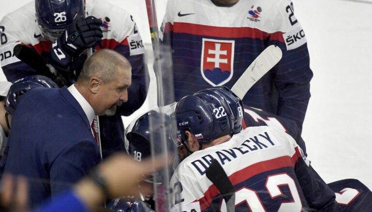 Тренер словаков не стал заострять внимание на незасчитанном голе и похвалил латвийскую команду