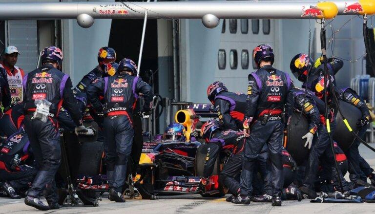 'Red Bull' atņem 'McLaren' ātrākā pitstopa rekordu