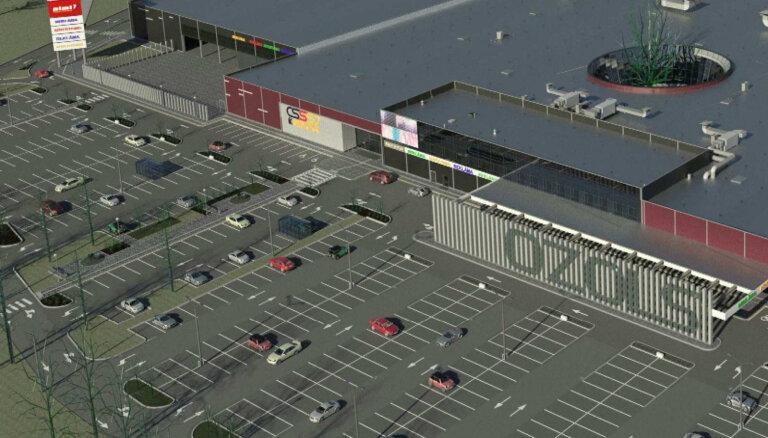 В новом рижском торговом центре откроется крупнейший в Латвии магазин K Senukai