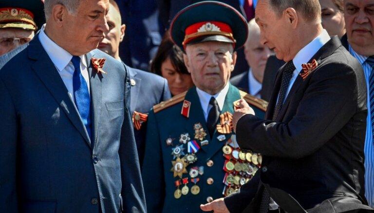 Netanjahu tiksies ar Putinu pirmo reizi pēc IL-20 notriekšanas Sīrijā