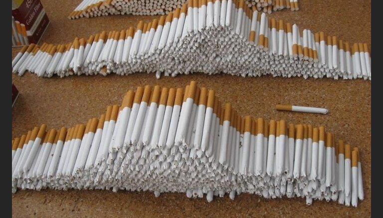 СГД: за восемь месяцев из Латвии вывезено на 7,1% меньше сигарет